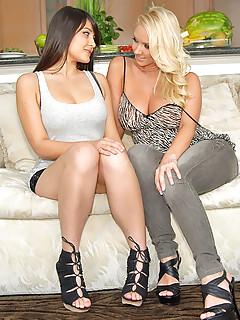 Lesbian Pornstars Pics